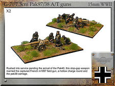 Forged in Battle FOW WW2 15mm German 7.5cm Pak97/38