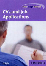 CVs and Job Applications (One Step Ahead),GOOD Book
