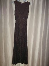Ladies Phase Eight Brown Dress Size 8