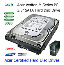 """80GB Acer Veriton M421 3.5"""" SATA Hard Disc Drive (HDD) Upgrade / Replacement"""