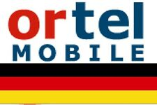 NEW, Ortel GERMAN, PREPAID SIM card. MICRO/STD or NANO size. Europe, Germany.