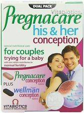 Vitabiotics Pregnacare Conception 60 Tablets For Couples Trying a Baby Vitamins