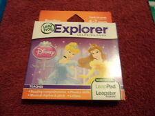 NEW LEAP FROG LEAPSTER LEAPPAD EXPLORER GAME DISNEY PRINCESS POP UP STORY  4-7