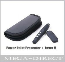 #7078 Wireless USB Word PowerPoint Presenter PPT Teach Red Laser Pointer Pen PC