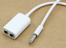 3.5mm 1  to 2 Stereo Headphone/ Earphones Splitter Cable For iPod MP3