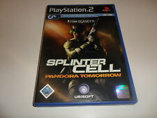 PlayStation 2 PS 2 Tom Clancy 's Splinter Cell-Pandora Tomorrow
