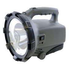Lloytron D2203 Black 5w LED Beam Torch 2x Brightness Settings Weatherproof - New