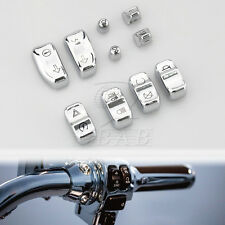 Chrome Switch Cap Kit For Harley Touring 2014-2015