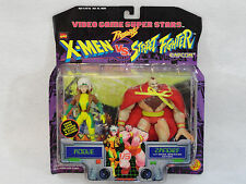 Marvel X-men's Rogue VS. Zangief Street Fighter Action Figures Capcom Toy Biz