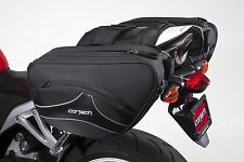 Cortech 2.0 Super 36 Liter Sportbike Motorcycle Saddlebags Tail Bag Rain Covers
