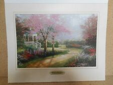 Thomas Kinkade Morning Dogwood 11 x 14 inch Picture Print
