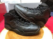 Nike Air Jordan Retro Blackout X Size 13 Black XII XI IX 10 VI V IV Steel VII