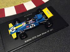 1/43 Brabham bt33 #14 Graham HILL GP south africa 1971 spark s4338