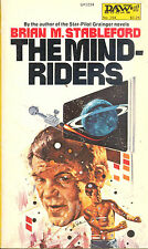 The Mind-Riders by Brian M. Stableford 1976 First Edition First Print Softcover