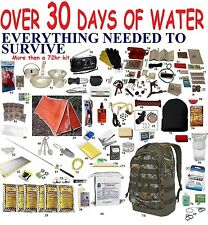 SALE  5% 72 Hour 3Day Disaster Emergency Survival Kit Bug Out Bag Camping Hiking