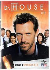 Dr HOUSE - Intégrale kiosque TF1 Video - Saison 2 - dvd 9 - Episodes 9 à 12