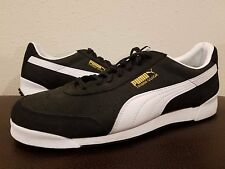 Puma Men's Trimm Quick Athletic Shoe Black Gold White Size 11 NWOB