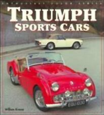 TRIUMPH SPORTS CARS ENTHUSIAST COLOR SERIES by Bill Krause AUTO CLASSIC F/SHIP