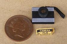 1:12 Scale Non Working Camera & Empty Film Box Dolls House Miniature Accessory