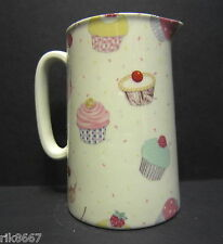 Heron Cross Pottery Cup Cakes Chintz English 1 Pint Milk Jug
