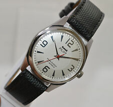 VINTAGE MEN'S HMT PILOT 17J INDIA MADE HAND WIND MOVEMENT USED OLD WRIST WATCH
