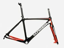 MED 54CM STRADALLI CYCLOCROSS CX BICYCLE CARBON FIBER FRAMESET FRAME DISC BIKE