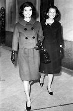8x10 Print Jackie Kennedy Onassis Sister Lee Radziwill 1961 Candid #JAO