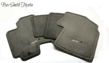 NEW OEM 2001-2003 TOYOTA RAV4 GRAY FLOOR MATS 4-PEICE SET & CLIPS