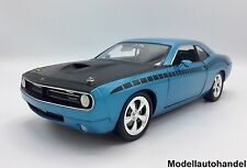 Plymouth Cuda CONCEPT CAR-BLU - 1:18 Highway 61