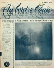 Au Bord de l'Eau n°22 - 1937 - Les Cuillers à Brochets - L'Anse - Le Saumon -