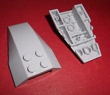 Lego (43712) 2 Keilsteine 6x4x1, in hellgrau aus 8091 8128 7198 7868 7663 8970