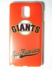 MLB San Francisco Giants Samsung Galaxy Note 4 N910 Plastic One-Piece Slim Case