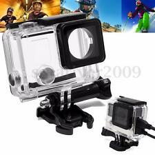 Side Open Skeleton Housing Protective Case Cover Mount For GoPro Hero 4 Camera