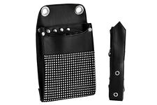 NEW HAIRDRESSING SCISSORS TOOL BELT SCISSOR HOLDER HOLSTER BELT POUCH BAG