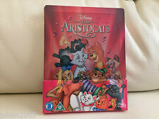 DISNEY THE ARISTOCATS ZAVVI EXCLUSIVE STEELBOOK BLU RAY **NEW & SEALED**