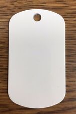 50 Dye Sublimation Gi Dog Tags 2 sided Heat transfer