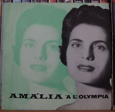 "AMALIA RODRIGUES AMALIA A L'OLYMPIA 45t 7"" UK PRESS  EP COLUMBIA"
