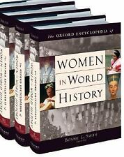 Oxford Encyclopedia of Women in World History: 4 BIG HARDCOVER BOOKS/ RARE 2008