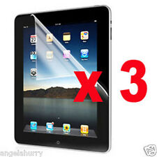 3 x LCD Ultra Clear Guard Screen Protector for iPad 4 4th iPad 3 iPad 2