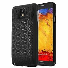Arc™ Samsung Galaxy Note 3  Extended Battery HoneyComb Black TPU Case / Cover