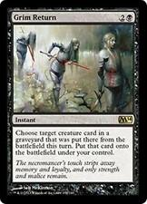 GRIM RETURN M14 Magic 2014 MTG Black Instant RARE