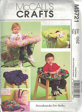 Mccalls Crafts - 3 en 1 Funda de carro de la compra-M5721 Manualidades De Costura