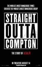 Straight Outta Compton Movie Poster (24x36) - Dr. Dre, Eazy-E, Ice Cube, NWA v1