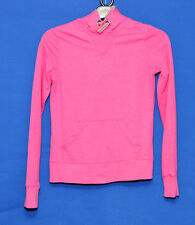 ~PINK LONG SLEEVE HOODED TOP~SIZE 10~