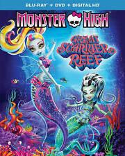 Monster High: Great Scarrier Reef (Blu-ray/DVD, 2016, 2-Disc Set) & Digital HD