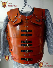 Genuine Leather Vest 4mm Leather ArmOr LARP Armor SCA ARMOR MEDIEVAL  DRESS