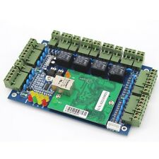Wiegand TCP/IP Network Entry Attendance Access Control Board Panel For 4 Door