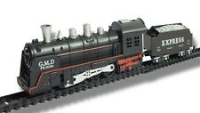 Kids Classic Train Set with Light and Sound Battery Operated