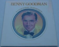 "BENNY GOODMAN""A LEGENDARY PERFORMER""1977 FACTORY SEALED  COLLECTIBLE LP"