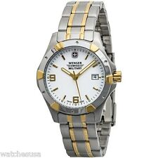 Wenger Standard Issue Three-Hand Stainless Steel - Two-Tone Women's watch #79094